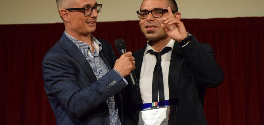 """Pasquale Berrica premiato con la Panchina d'oro del Web """"Settore Giovanile"""" AIAC Imperia"""