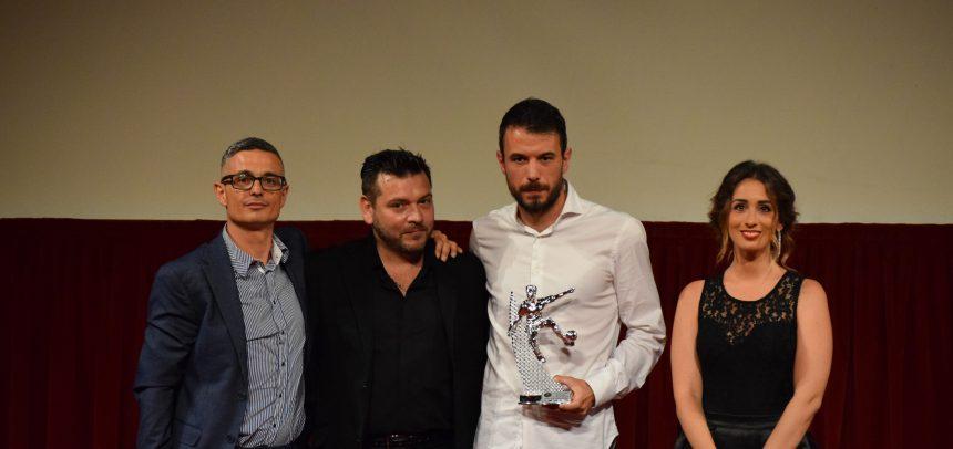 Mattia Gerardi vince il premio come miglior centrocampista del ponente 2017-18