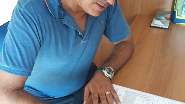 Imperia – Mister Pietro Buttu firma il contratto per la stagione 2018-19