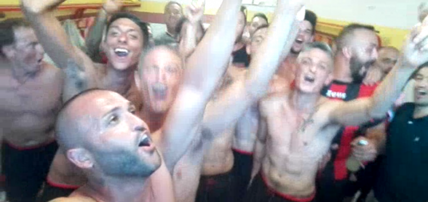 VIDEO – I festeggiamenti del Milan Club Taggia Arma negli spogliatoi!