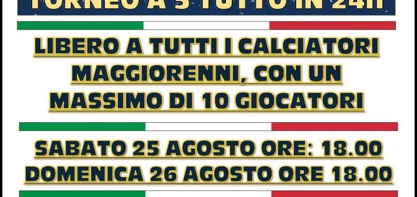 """Al """"Pala Solaro"""" va in scena la Notte dei Leoni, torneo di calcio a 5 tutto in 24 ore"""
