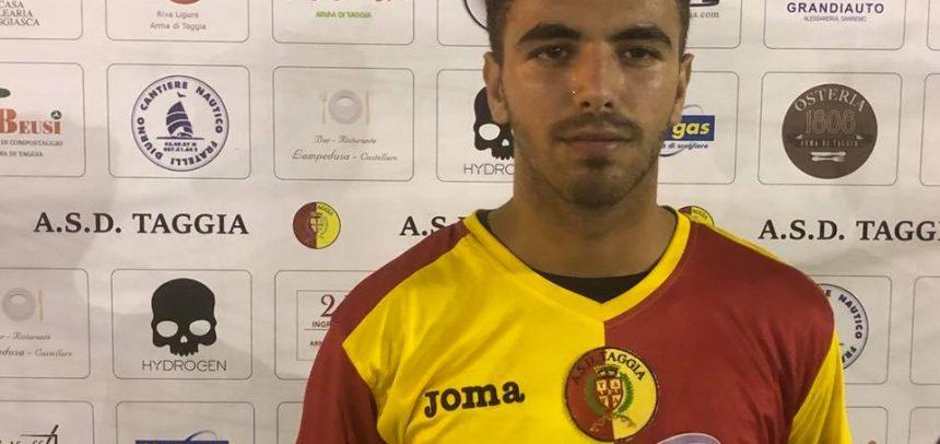 Calciomercato – Taggia, arriva Luca Crespi in prestito dalla Sanremese