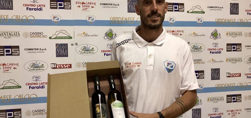 """Max Taddei è il Man of the Match di Sanremese-Folgore Caratese 1-1:""""Una buona partita contro una squadra molto forte"""""""