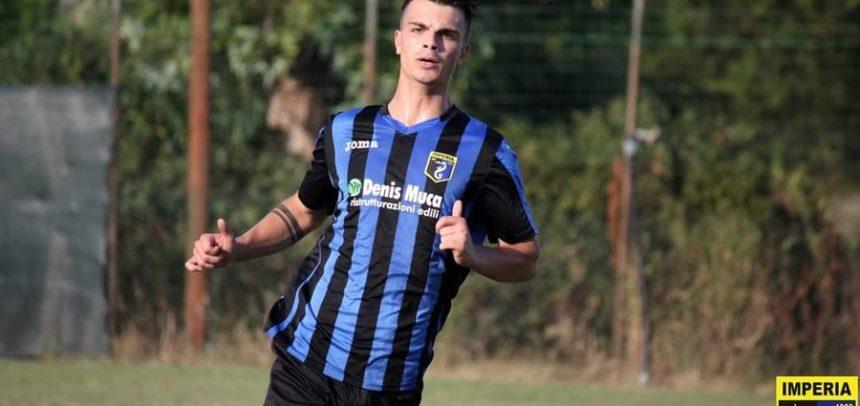 """Imperia, nella vittoria contro l'Angelo Baiardo Tommaso Moscatelli segna il primo gol in Eccellenza:""""Sono molto felice. Stiamo raggiungendo la giusta condizione"""""""