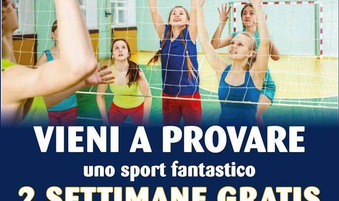 Volley Team Arma Taggia, due settimane gratis per i ragazzi dai 5 ai 16 anni