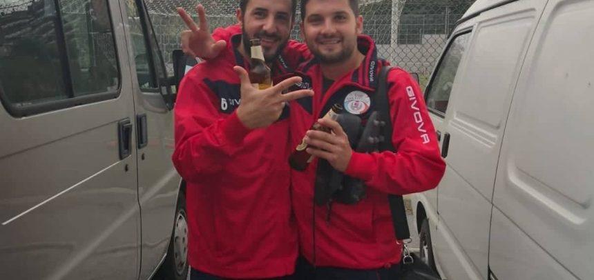 """Sanstevese, c'è anche la firma di Bruno Raguseo nella vittoria di Legino:""""Dedico il gol al nonno della mia compagna Alice"""""""