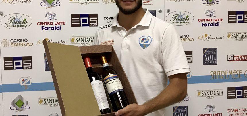 """Giorgio Gagliardi Man of the Match di Sanremese-Savona 2-1:""""Un gol importante per me e i tifosi"""""""