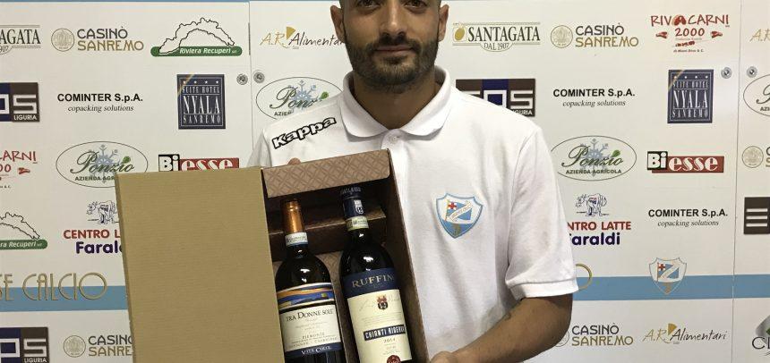 """A Marco Spinosa il Man of the Match di Sanremese-Fezzanese 3-0:""""Oggi abbiamo dato un segnale importante"""""""
