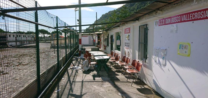 """Don Bosco Vallecrosia Intemelia – Ingenti danni allo """"Zaccari"""": sospese le attività agonistiche"""