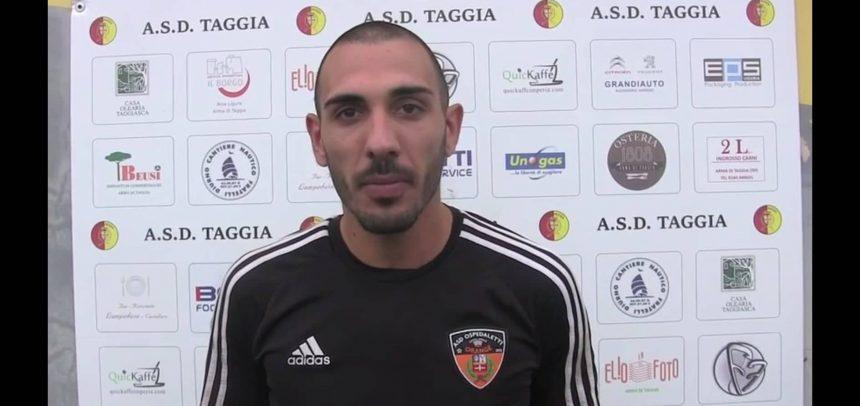 """[Video] Armando Miceli è il Man of the Match di Taggia-Ospedaletti 1-2:""""Loro sono una bella squadra, gol dedicati ai miei compagni"""""""