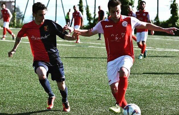 """Sanstevese, non basta il gol di De Flaviis contro il Serra Riccò:""""Bisogna lavorare a testa bassa, credo alla salvezza"""""""