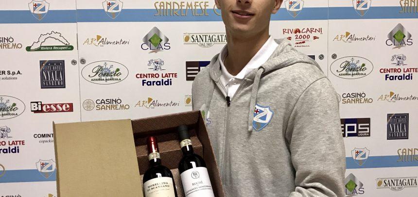 """Patrick Anzaghi vince il premio Man of the Match di Sanremese–Milano City 3-0:""""Che emozione il primo gol con questa maglia"""""""