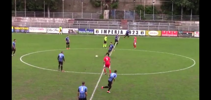 Gli Highlights di Imperia-Genova Calcio 1-1