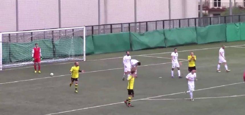 [Video] Alassio FC-Imperia 2-2, il gol di rovesciata annullato a Fabio Di Mario