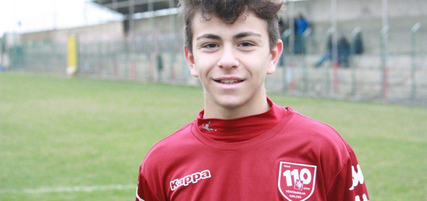 Allievi Under 17 Provinciali, Marco Sparma è il Man of the Match di Taggia-Ventimiglia 1-4