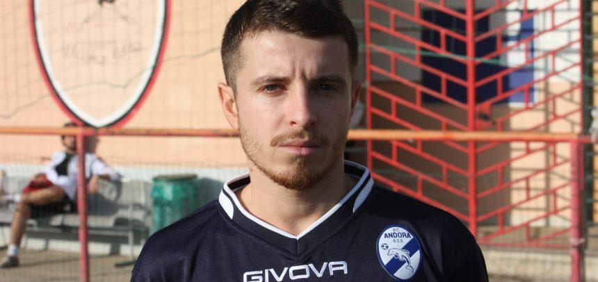 AC Andora, il gol di Alessio Proglio contro l'Atletico Argentina