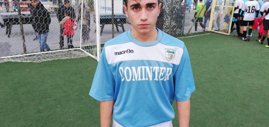 Allievi Regionali, Kevin Libonati è il Man of the Match di Sanremese-Sampierdarenese 3-0