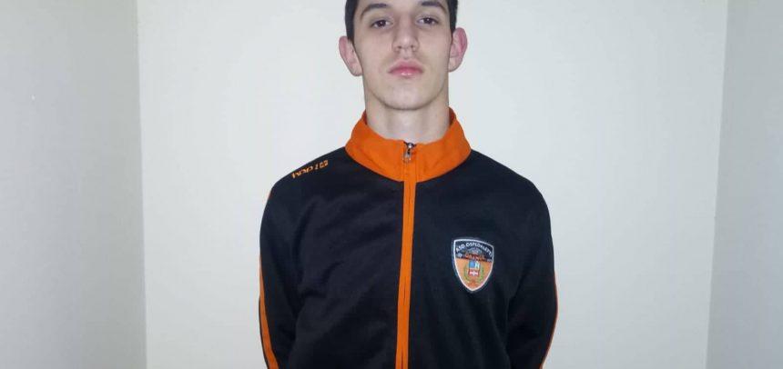 Ospedaletti, Samuele Pistone convocato in Rappresentativa Regionale Under 15