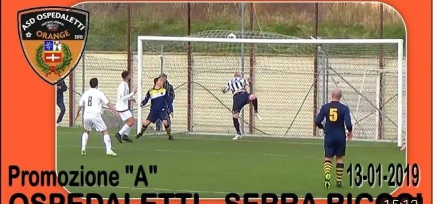 Gli Highlights di Ospedaletti-Serra Riccò 3-1