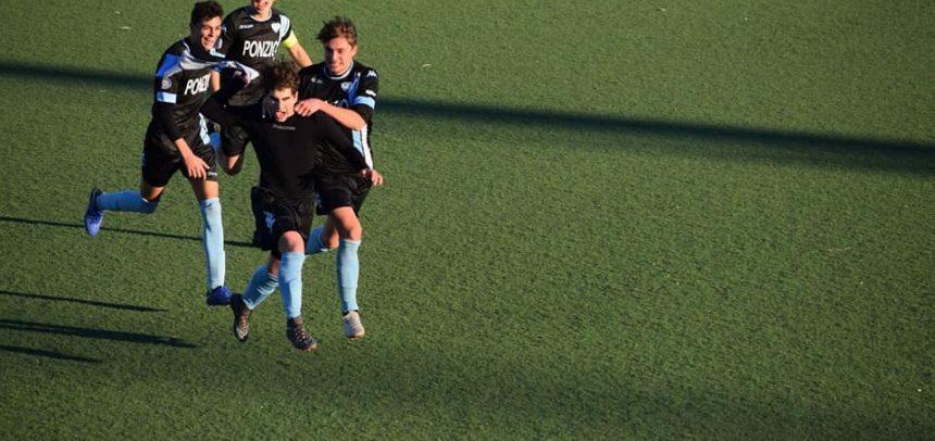Juniores Sanremese, l'eurogol di Edoardo D'Arcangelo contro il Viareggio