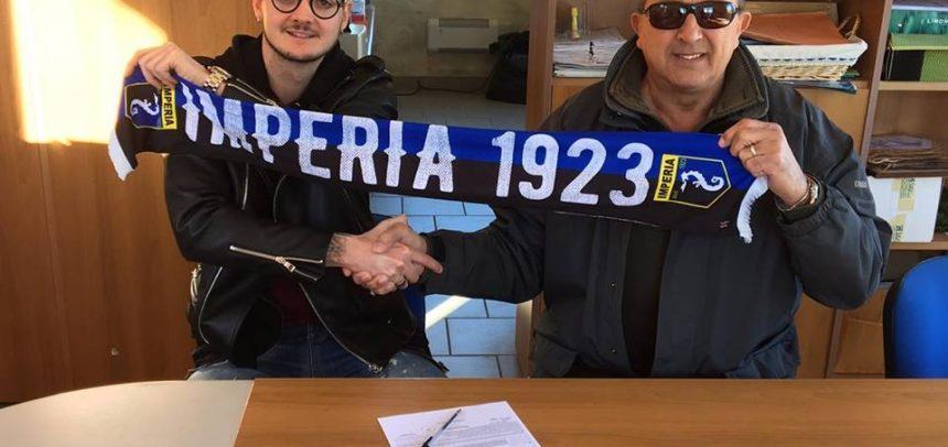 Calciomercato – L'imperia ufficializza l'attaccante Diego Mella