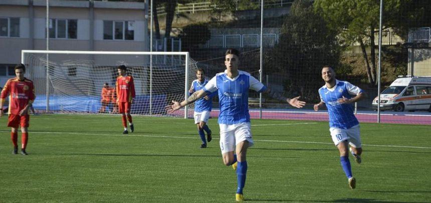 """Ceriale Progetto Calcio, un eurogol di Dominici stende il Celle Ligure:""""Gruppo e società fantastici"""""""
