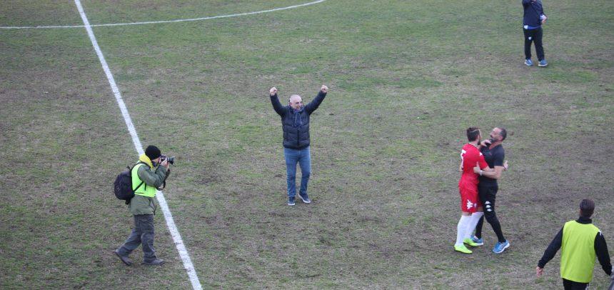 """Sanremese-Savona 2-0, Pino Fava:""""Vittoria dedicata ai nostri tifosi, hanno fatto un tifo incredibile. Felice per mister Lupo"""""""