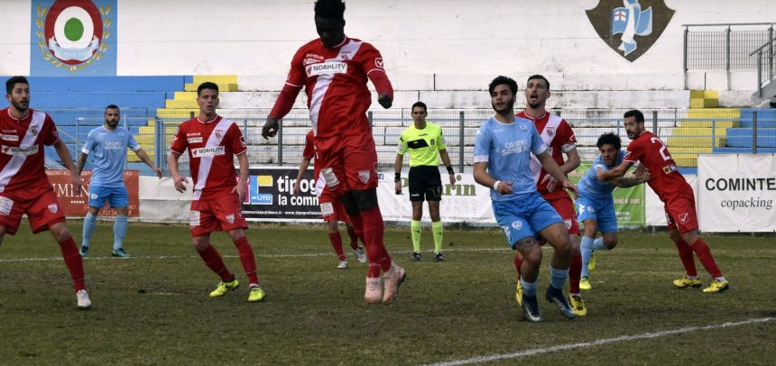 Si interrompe contro il Mantova ai quarti di finale il cammino della Sanremese in Coppa Italia.