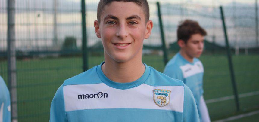 Giovanissimi Regionali, Edoardo Elettore è il Man of the Match di Ospedaletti-Sanremese 1-4