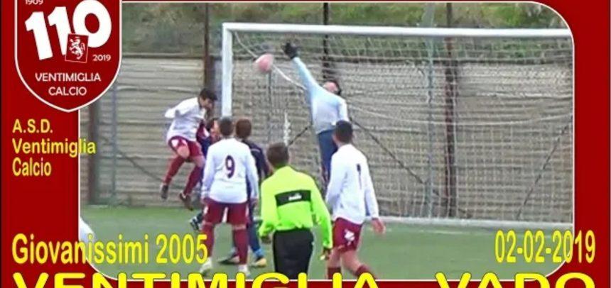 Giovanissimi, gli Highlights di Ventimiglia-Vado 5-1