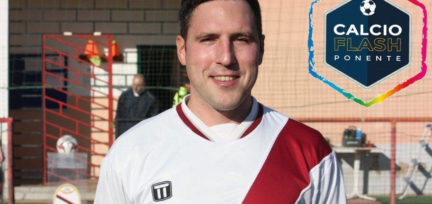 """Riva Ligure, Nicola Montepietra in gol nella vittoria sul San Bartolomeo:""""Dedicato a mia moglie e a mio fratello che diventerà padre"""""""