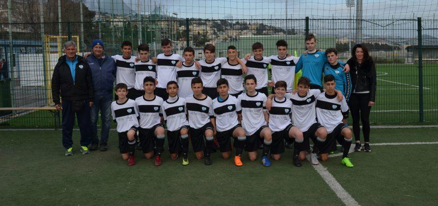 Fasi finali regionali Giovanissimi, la Sanremese corsara sul campo dell'Athletic Club Liberi con i gol di Coccoluto e Moglan