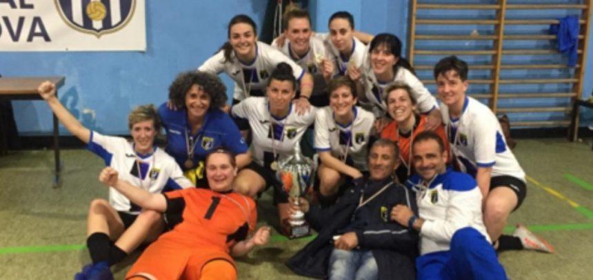 L'Imperia Calcio a 5 Femminile è Campione Regionale!