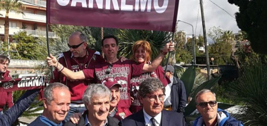 Inaugurata a Sanremo la strada per ricordare il Grande Torino