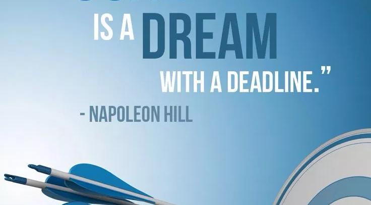 Come trasformare un sogno in un obiettivo