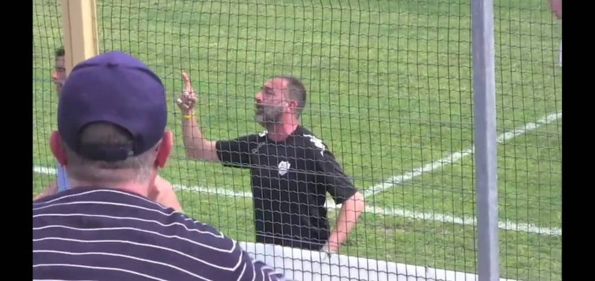 """[Video] Sanremese, lo sfogo di mister Lupo con i tifosi:""""Non dite che la squadra non ha dato tutto"""""""