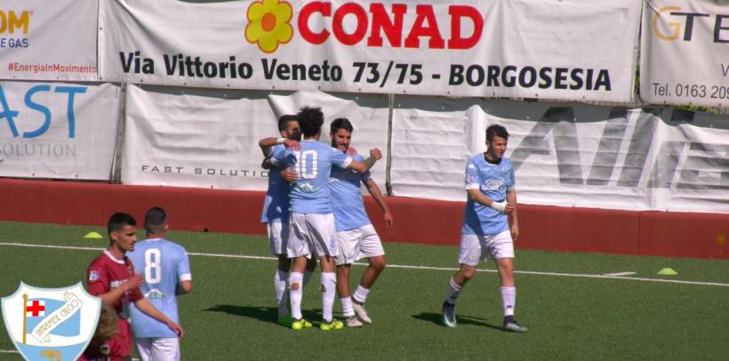 Gli Highlights di Borgosesia-Sanremese 2-2