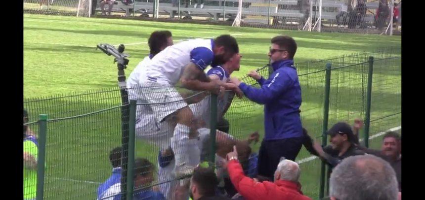 [Video] AC Andora, i festeggiamenti dopo la vittoria con l'Atletico Argentina