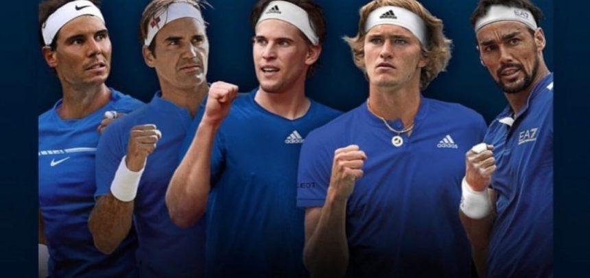 Tennis, Fognini convocato con le stelle d'Europa per la Laver Cup
