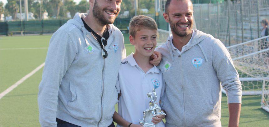 Francesco Fidanza miglior giocatore del 1° Trofeo Riviera Recuperi