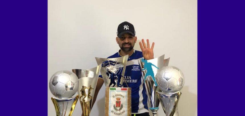 "Per Elia Cashmere poker di vittorie al Torneo Città di Sanremo, Guiderdone:""Grazie a tutti i ragazzi"""