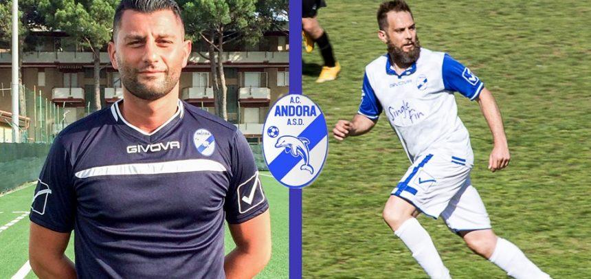 AC Andora, tesserato Matteo Calandrino e confermato Matteo Tamborino