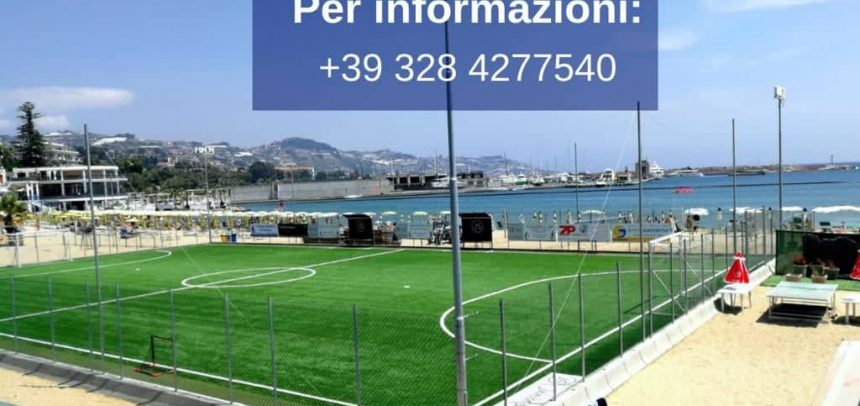 Tutto pronto per lo Stage European Football Academy a Sanremo