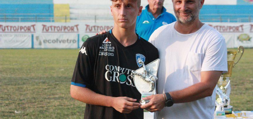 Tommaso Baldanzi dell'Empoli è il miglior giocatore al 61° Torneo Internazionale Carlin's Boys