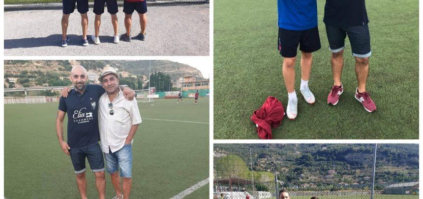 """Ventimiglia – Maglie dello staff personalizzate e griffate EliaCashmere, Guiderdone:""""Orgoglioso di far parte di questa società"""""""