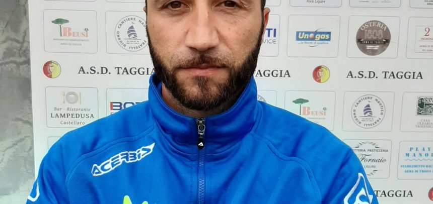 """Taggia-Ceriale 2-1, mister Siciliano:""""Questa squadra ha le palle e un grande cuore"""""""