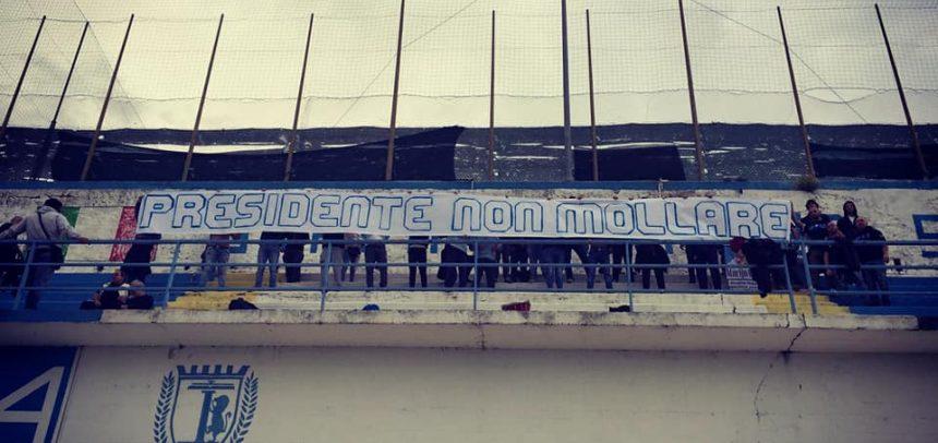 """La Gradinata Nord esprime il proprio sostegno a Marco Del Gratta:""""Presidente non mollare"""""""