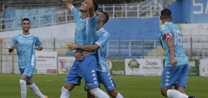 """Sanremese-Borgosesia 1-0, il Man of the Match Alex Gagliardini:""""Ci tenevo a fare un gol nell'anniversario della scomparsa di mio fratello"""""""
