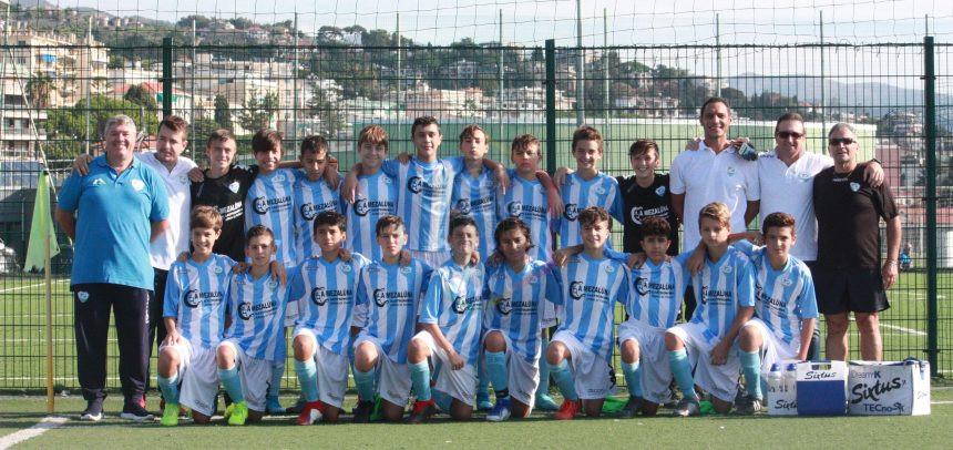 Giovanissimi Regionali Fascia B, la Sanremese piega il Serra Riccò 4-0: in gol Condoluci, Camerino, Martelli e Rubis