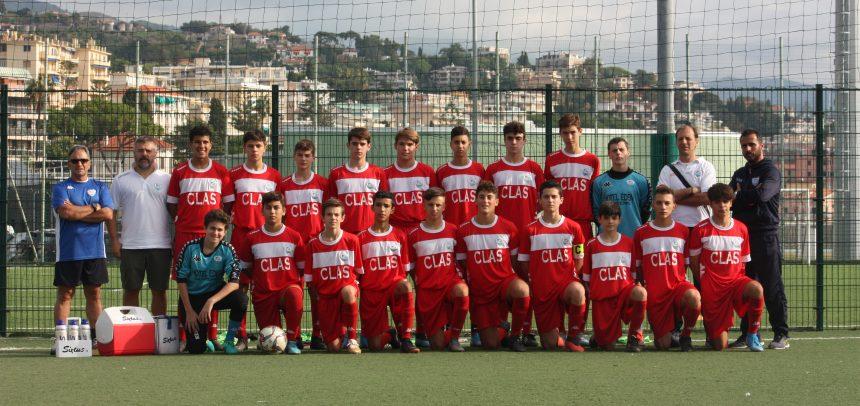 Allievi Regionali Fascia B, la Sanremese termina il girone di qualificazione battendo la Pegliese 8-1